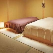 1階客室【浮舟】 ベッドルーム