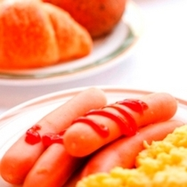 バイキング朝食無料サービス♪