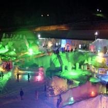 ◆層雲峡 氷瀑祭り◆光と氷が織り成すファンタジー
