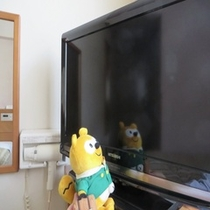 ◆客室テレビ◆大きすぎず丁度いい26型のテレビだよ。