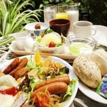 ◆朝食の一例◆和洋豊富なメニューからお好きなものをお好きなだけどうぞ