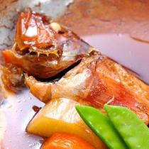 【スタンダード】内房海の幸!地魚三昧プラン/カサゴの煮付け
