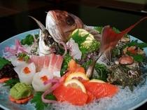 日本海鮮魚の盛り合わせ