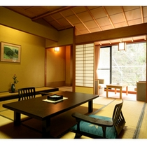 ■数寄屋造り和室12.5畳 バス・トイレ付き