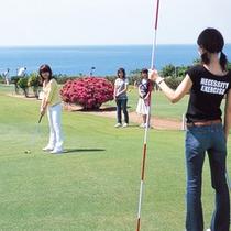 ■芝政ワールドのグラウンドゴルフ