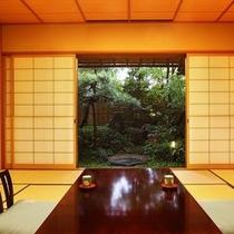 露天風呂付き客室(特富士)