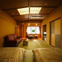 ■お部屋■ベッド付和室