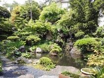 四季折々の庭園に心癒されます。お庭散策できます!