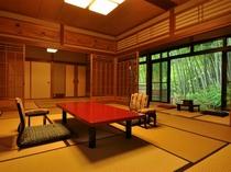 将棋や囲碁のタイトル戦を行うお部屋。特別室『常磐』