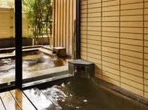 鳳凰特別室・202しぎ/源泉内風呂〈石づくり〉