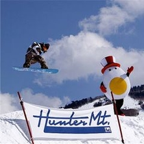 ハンターマウンテン塩原で雪遊び満喫★ハンタマくんとハーフパイプ