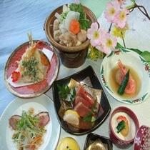 鍋/季節御膳(一例)