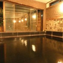 *【温泉(一例)】伊豆石のお風呂(内湯・男女入れ替え制)アルカリ性単純泉でお肌しっとり♪