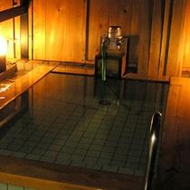 *【野天風呂(一例)】貸切もOK!心地よい風を感じながらのんびり湯浴みを♪
