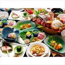 アポロ荘スタンダードな-船出-プランのお料理イメージです。