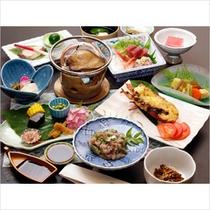 伊勢海老×鮑×鯵たたき丼の-湯河原三昧-プランのお料理イメージです。