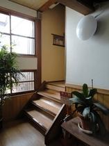 お部屋への階段