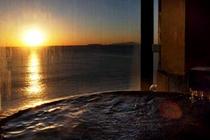 屋上貸切風呂からの眺め