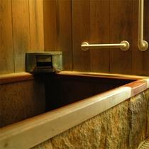 *客室内温泉風呂