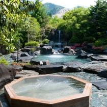 縁覚の湯「露天風呂」