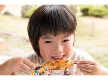 五平餅おいしいよー(1人)