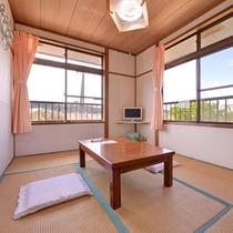 *和室6畳(客室一例)/民宿らしいシンプルな和室のお部屋。足を伸ばしてのんびりとお寛ぎ下さい。