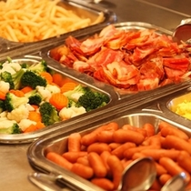 【朝食】いっぱい食べて、お出掛けしましょう♪