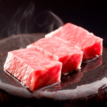 信州和牛の石焼きステーキ(イメージ)