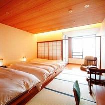 【展望風呂付トリプル】最上階!松本平の夜景一望