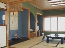 床の間の付いた客室