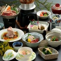 【夕食一例】魚沼のごっつぉ会席