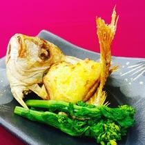 小鯛の黄金焼き