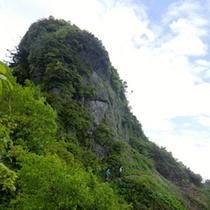 八海山山頂付近