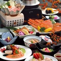 冬料理蟹1杯付きイメージ