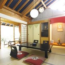 【和室一例】木の温もりに包まれた落ち着いた佇まいの客室
