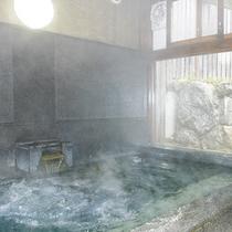 【家族風呂】誰にも邪魔されずのんびりと温泉三昧!