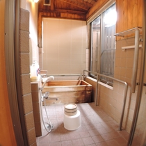 檜風呂付客室檜風呂
