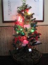 こまどり荘 クリスマスツリー