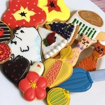 *【アイシングクッキー】(イメージ)世界にひとつだけのオリジナルクッキーを作りましょう!