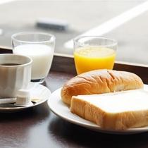 朝軽食の一例