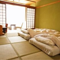 和室10畳(バスなし、トイレ付き)の一例