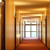 ◆宿泊棟廊下