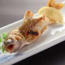 ◆岩魚の塩焼き