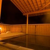 ◆雪見露天風呂でゆっくりと・・・。