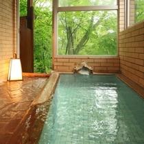 旅館美津木の貸切風呂も利用可(観音の湯【内湯】、混雑日時間制限有)