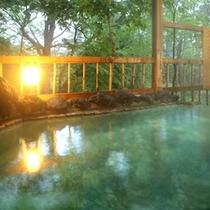 旅館美津木の貸切風呂も利用可(観月の湯【内湯に併設の露天】、混雑日時間制限有)