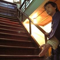 館内階段(本館)