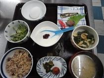 酵素玄米朝食