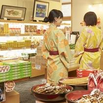 【売店】栃木名産を豊富に取り扱っております。