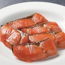 朝食バイキング〜焼き鮭